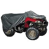 PrimeShield ATV Cover - Heavy Duty Waterproof Windproof Large Quad ATC Four Wheeler Cover, All-Season Outdoor, 94 x 48 x 48, Black