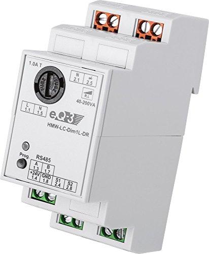 HomeMatic Wired RS485 Dimmaktor 1-fach, Phasenanschnitt, Hutschienenmontage