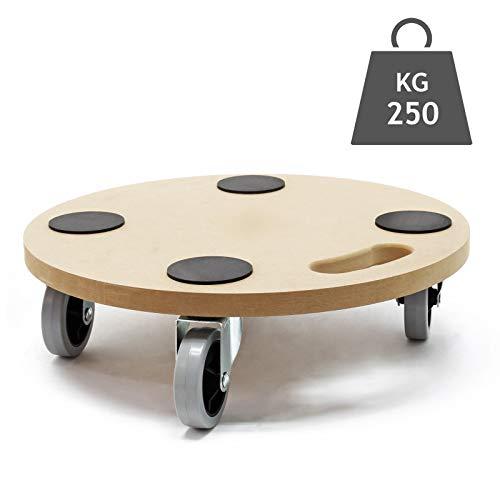 Transportroller Möbelroller Rollbrett Möbelhund Umzugshilfe MDF 380 mm 250 kg