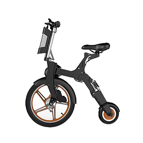 Y&WY Bicicleta Eléctricas,Plegable Bicicleta De Aleación De Aluminio 250W De Potencia 25...