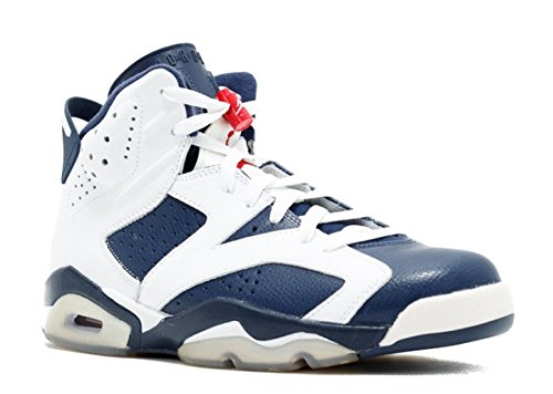 AIR JORDAN 6 Retro 'Olympic 2012 Release' - 384664-130 - Size 47.5-EU