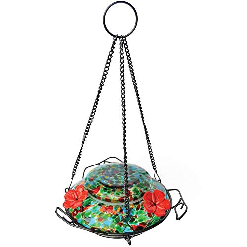 Wild Wings WWGHF1 Top Fill Hummingbird Feeder, Blue Sunset
