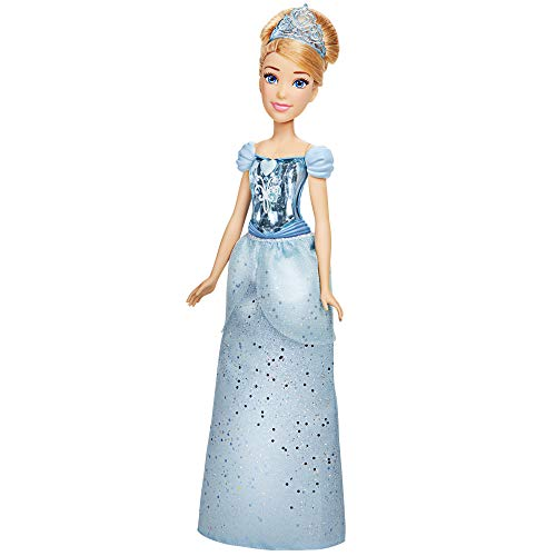 Disney Princess Royal Shimmer Cinderella Doll, Fashion Doll with Skirt and Accessories, Toy for Kids Ages 3 and Up
