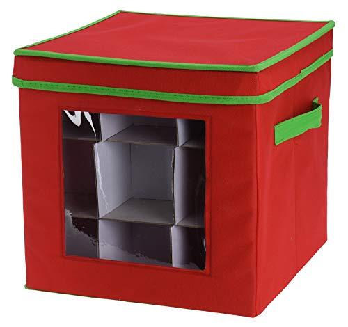 Meinposten. Opbergdoos voor 27 kerstballen kerstdecoratie kist box opbergen