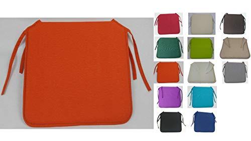 MR. COJIN COJIN Silla Pack 6 Unidades (Naranja)