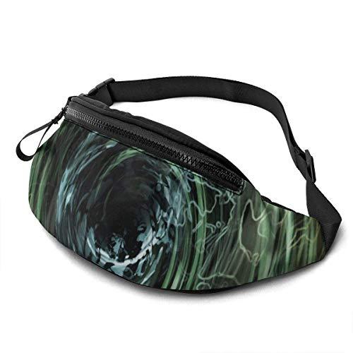 Hdadwy Waist Pack - Swirl Spiral Abstract Art Fanny Pack Fashion Waist Bag