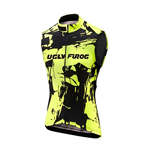 Uglyfrog Fahrradbekleidung Beheizte Weste, MTB Winter Wärmer Weste, Kleidung für Outdoor-Camping, Radfahren Skifahren