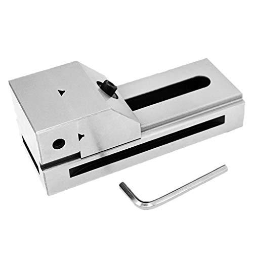 gazechimp Rectificado de Precisión de 1 Pulgada / 29 mm, 2 Pulg / 50 mm Tipo de Pasador sin Tornillo Vise Vice - Blanco 1