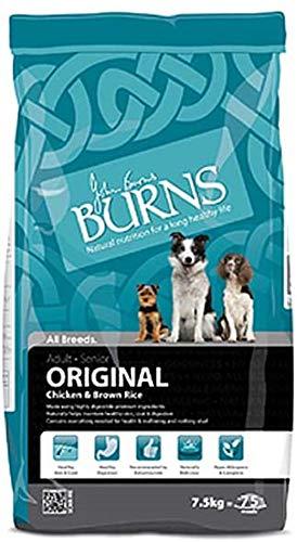 Burns Original droogvoering voor volwassenen en senioren, 7,5 kg