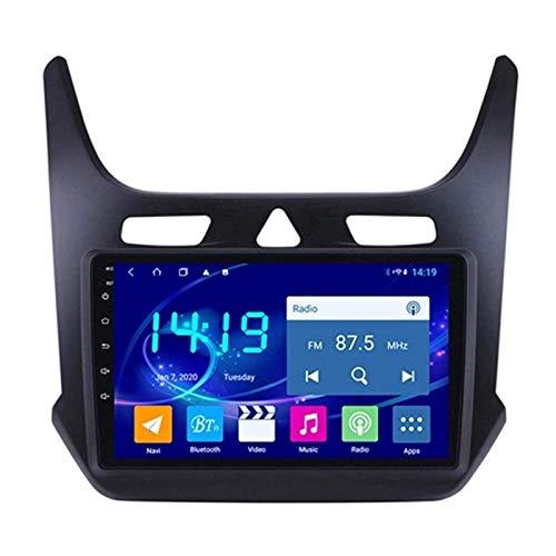 WY-CAR Unidad Principal De Pantalla Táctil Estéreo De Radio De Coche De 9 Pulgadas para Chevrolet Cobalt 2016-2018, Navegación GPS De 4 Núcleos, Bluetooth/GPS/WiFi/USB/SWC/Mirror Link/FM