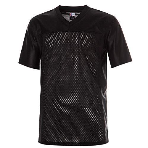 MOLPE Plain Football Jersey (Black, S)