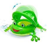 NEWYANG Barca per Bebè Gonfiabili – Frog Piscina Baby Salvagente Bambino Anello Salvagente con...