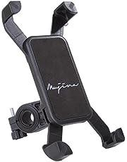 (ムジナ) mujina バイク 自転車 スマホ ホルダー 360度回転 iPhone Garaxy Xperia 多機種対応 厚さ調整パッド付属 1年間保証 脱落防止 GPSナビ バーマウントキット