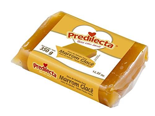 Predilecta - Dulce de Batata - Dulce de Boniato - Marrom Glace- Ideal Para Postres y Reposteria - 350 Gramos