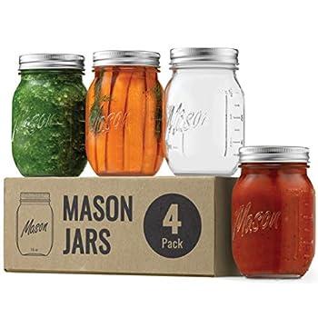 Best mason jars with lids Reviews