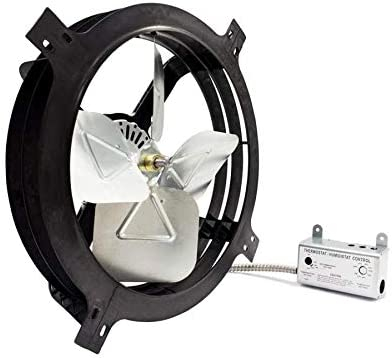 Air Vent 18-in Dia Weekly update Electric Gable u CFM for Fan Jacksonville Mall Attics 1620