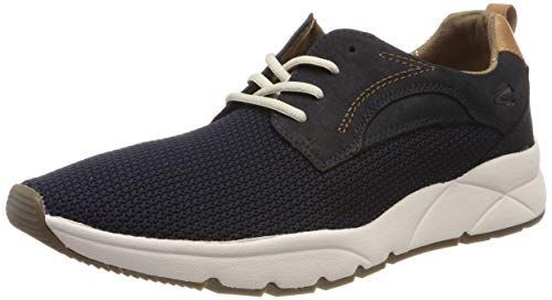 camel active Herren Run 11 Sneaker, Blau (Midnight 1), 43 EU