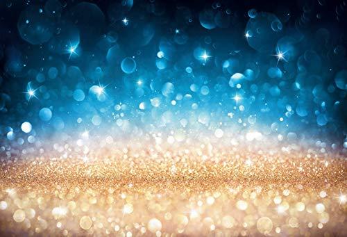 Fantasía Brillo Estrella Lunares luz Bokeh Boda cumpleaños Amor Fiesta bebé niño Foto Fondo fotografía telón de Fondo A5 7x5ft / 2.1x1.5m
