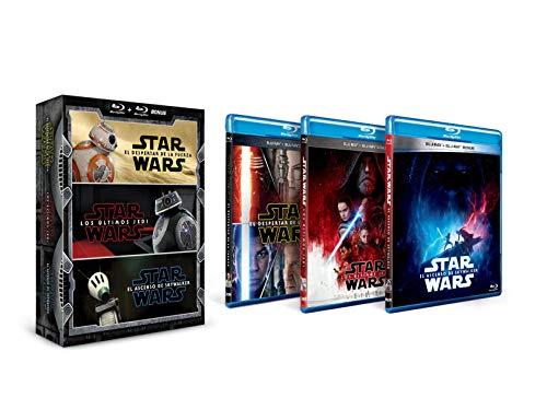 Trilogia Star Wars Cap 7 Al 9 – Br (Portada puede variar) [Blu-ray]
