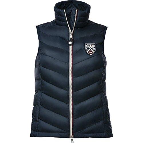 Equi-Theme/Equit'M 978091114 mouwloos padded vest heren, grijs/burgundy/navy contrasts, eenheidsmaat