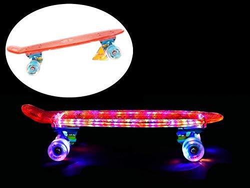 Hudora Hornet Skateboard ABEC 1 Diversi Designs bambini Fun