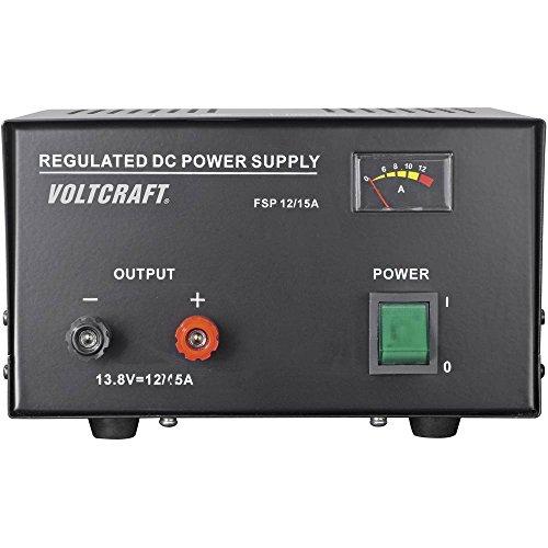 Voltcraft FSP-11312 Labornetzgerät, Festspannung 13.8 V/DC 12 A 165 W Anzahl Ausgänge 1 x