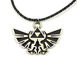 bronze 8th anniversary gift ideas for him - Zelda pendant