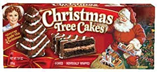 Little Debbie Christmas Tree Cakes Chocolate 10 Cakes (2 Boxes)