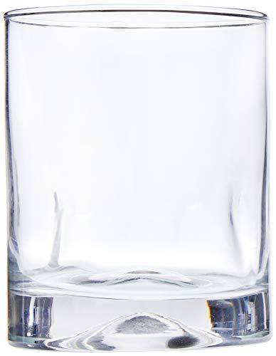 Pedrada Conjunto com 06 Copos para Whisky Crisa Transparente