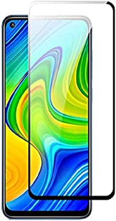 Mi Redmi Note 9 Screen Protector Glass Full Glue Tempered Glass Screen Guard Anti Explosion 2.5D for Mi Redmi Note 9 by Ni...