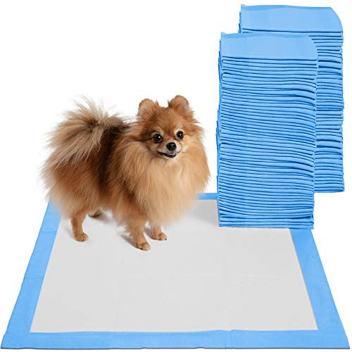 Puppy Pads Dog Pee Pad for Potty Training Dogs & Cats 22 x 22'- 100-Count Large