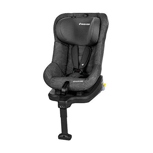 Maxi-Cosi TobiFix Kinderautositz mit Isofix und fünf komfortablen Sitz und Liegepositionen, Gruppe 1 Autositz, Nutzbar ab 9 Monate bis 4 Jahre, nomad black (schwarz) 9-18 kg
