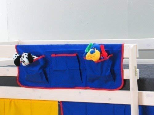 Thuka Stoff Hängetasche Organizer Aufbewahrung Kinderbett Hochbett Bett blau