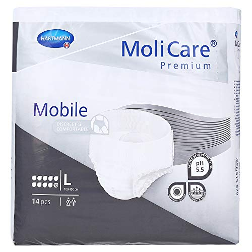 Hartmann MoliCare® Premium Mobile 10 Tropfen Gr. L (4x14 Stk.)