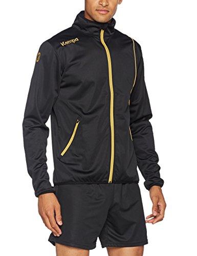 Kempa Herren Curve Classic Jacke, schwarz/Gold, XL