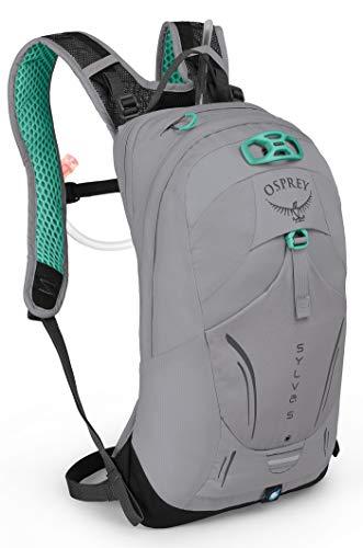 Osprey Sylva 5 Women's Bike Hydration Backpack, Downdraft Grey
