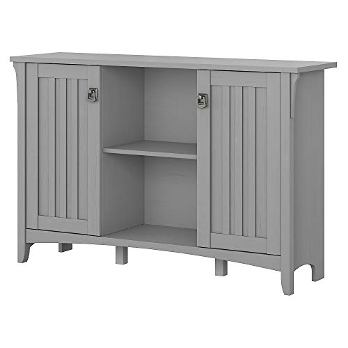 Small accent cabinet for organizing entranceways