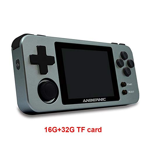 Consolas de Juegos Portátil, RG280M Consola de Juegos Retro Game Console, Built-in 1000 Juegos, 2.8Pulgadas IPS Videojuegos Portátil HDMI Output