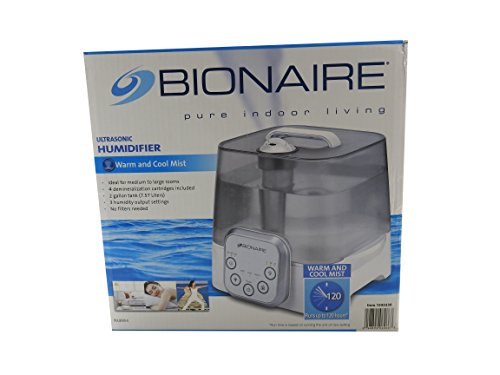 Bionaire, Humidifier Ultrasonic no filters needed, medium to large rooms