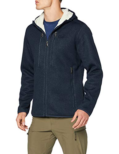 Jack Wolfskin Herren Robson Jacket Fleecejacke, Night Blue, L