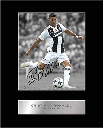 Foto autografata di Cristiano Ronaldo