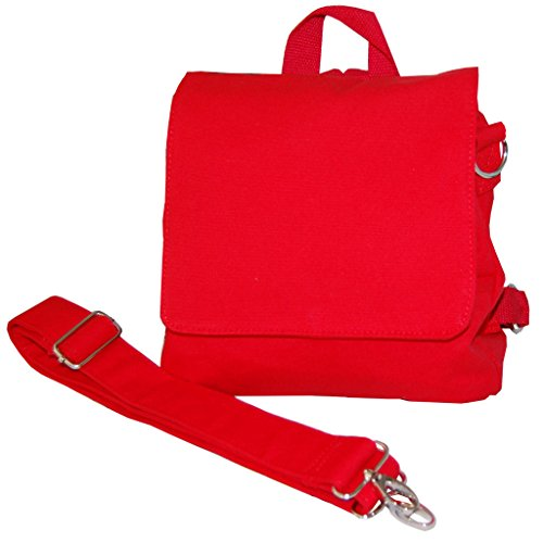 Taschenrohlinge zum Weiterverarbeiten KINDERGARTENTASCHE/Rucksack von Lieblingsstücke (Rot)