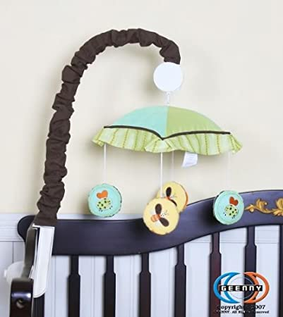 Boutique  Jungle Animals GEENNY Musical Mobile