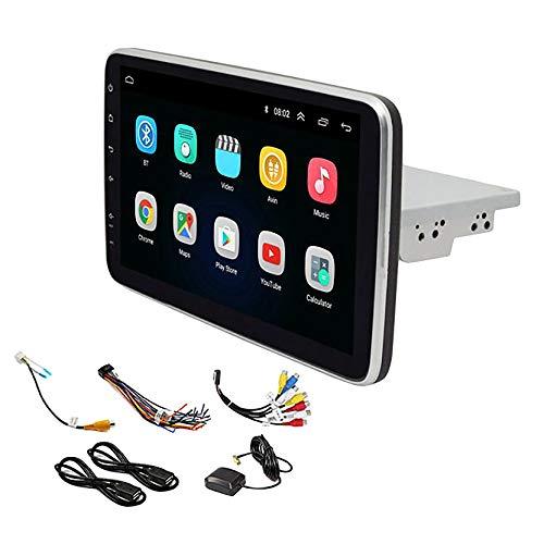 Cobeky Radio 10.1 pulgadas 1 DIN Android 8.1 GPS de navegación WIFI Auto estéreo Universal Multimedia Radio Player