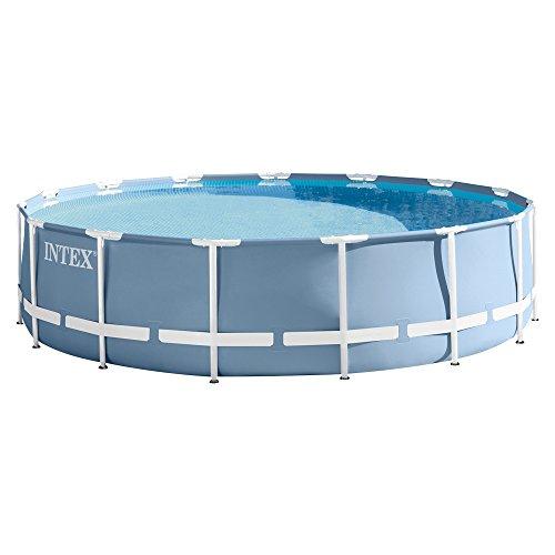Intex Prism Frame Pool Set - Aufstellpool - Ø 457 x 122 cm - Zubehör enthalten