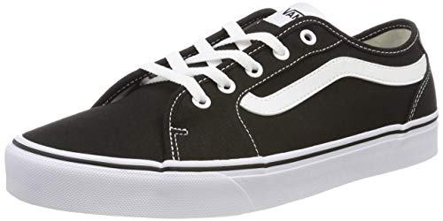 Vans Damen Filmore Decon Suede Sneaker, Schwarz ((Canvas) Black/True White 1wx), 42 EU