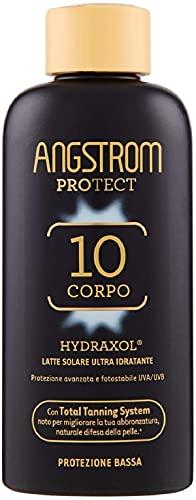 Angstrom Protect Latte Solare Ultra Idratante, Protezione Solare 10+ con Azione Nutriente...