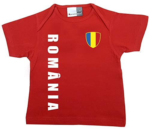 aprom Rumänien Baby T-Shirt - Trikot - WM EM No.1 R ROM (56(62)