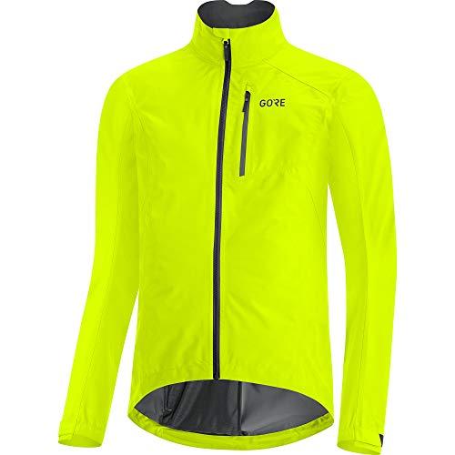 GORE WEAR Herren Fahrrad-Jacke, GORE-TEX PACLITE, XL, Neon-Gelb