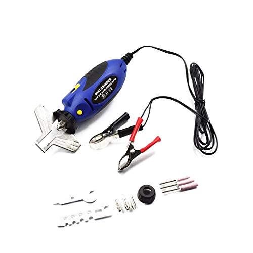 heacker Tragbare Mini-12V DC Kettensäge Sharpener Grinder Kettensäge Kettenschärf Elektrischer Grinder Kettensäge Datei Set